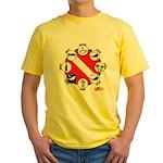 Circle of Scuba Yellow T-Shirt