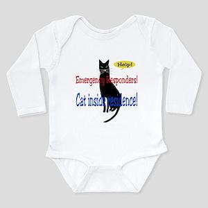 EmergencyResponder Cat Alert Long Sleeve Infant Bo