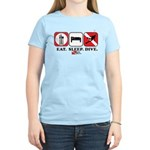 Eat Sleep Dive Women's Light T-Shirt