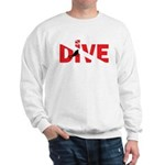 Dive Text Sweatshirt