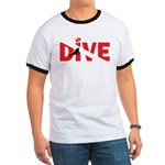 Dive Text Ringer T