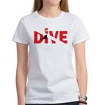Dive Text Women's T-Shirt