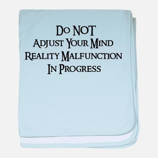 Reality Malfunction Infant Blanket