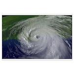 Hurricane Katrina Large Poster