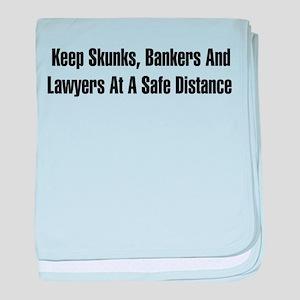 Skunks, Bankers, Lawyers Infant Blanket