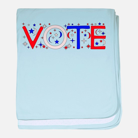 Get Out The Vote 2008 Infant Blanket