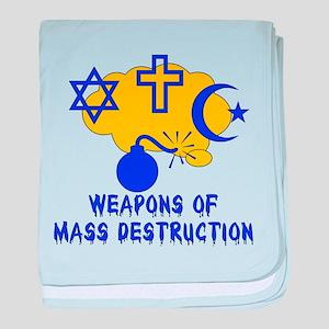 Religion Mass Destruction Infant Blanket