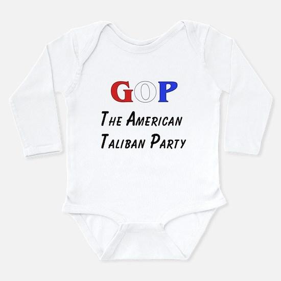 GOP American Taliban Long Sleeve Infant Bodysuit