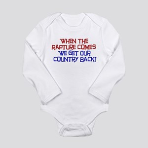Rapture Wingnuts Long Sleeve Infant Bodysuit
