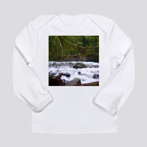 Nooksack River Trail Long Sleeve Infant T-Shirt