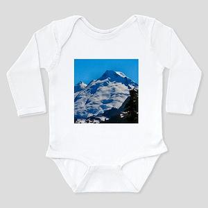 Artist Point Mt. Baker Long Sleeve Infant Bodysuit