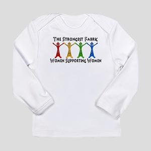 Women Supporting Women Long Sleeve Infant T-Shirt