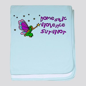 Domestic Abuse Angel Infant Blanket