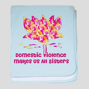Domestic Violence Sisters Infant Blanket