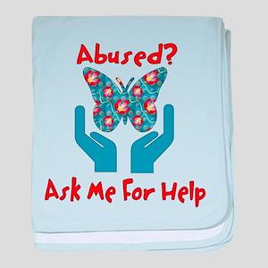 Domestic Violence Help Infant Blanket