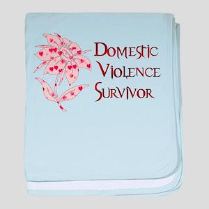 Domestic Abuse Survivor Infant Blanket