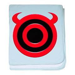 Devil's Target Halloween Appa Infant Blanket
