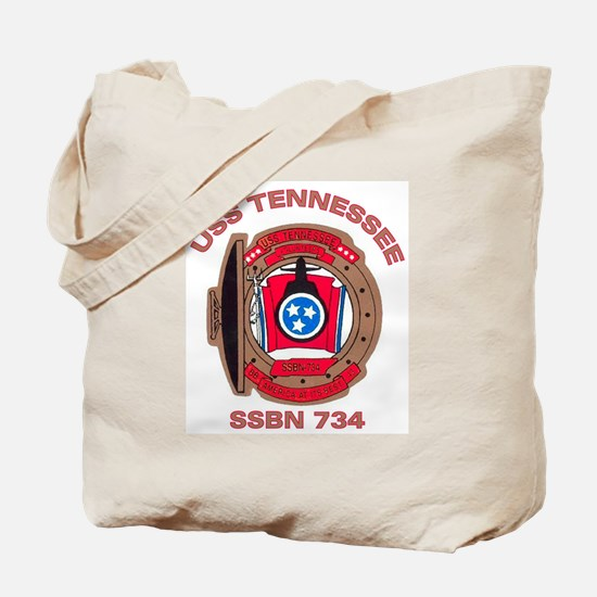 USS Tennessee SSBN 734 Tote Bag