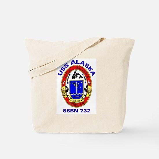USS Alaska SSBN 732 Tote Bag