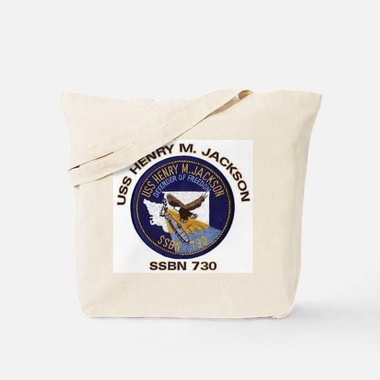 USS Henry M Jackson SSBN 730 Tote Bag