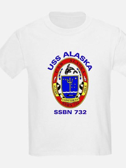 USS Alaska SSBN 732 Kids T-Shirt