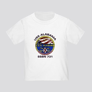 USS Alabama SSBN 731 Toddler T-Shirt