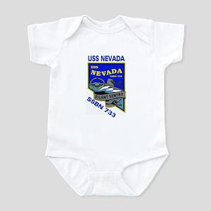 USS Nevada SSBN 733 Infant Creeper