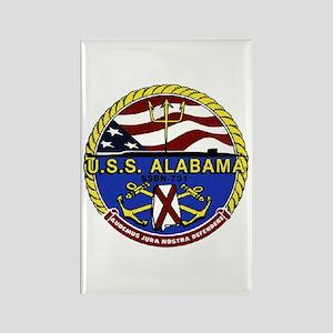 USS Alabama SSBN 731 Rectangle Magnet