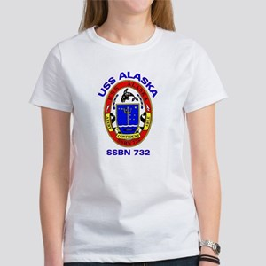USS Alaska SSBN 732 Women's T-Shirt
