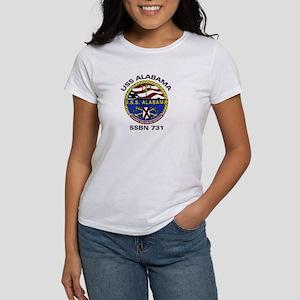 USS Alabama SSBN 731 Women's T-Shirt