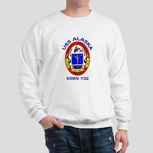 USS Alaska SSBN 732 Sweatshirt