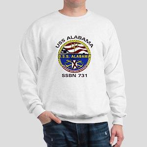 USS Alabama SSBN 731 Sweatshirt