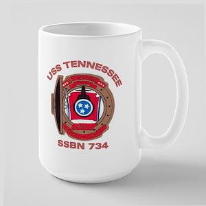 USS Tennessee SSBN 734 Large Mug