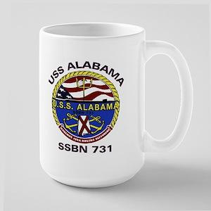USS Alabama SSBN 731 Large Mug