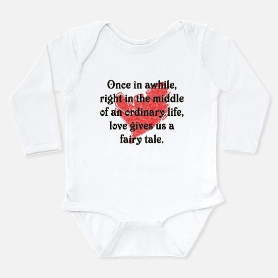 Fairy Tale Love Long Sleeve Infant Bodysuit