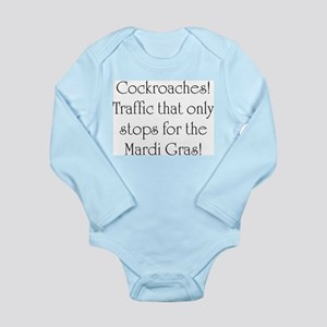 New South Wales Cockroaches Long Sleeve Infant Bod