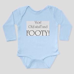 Victoria, Vics Long Sleeve Infant Bodysuit