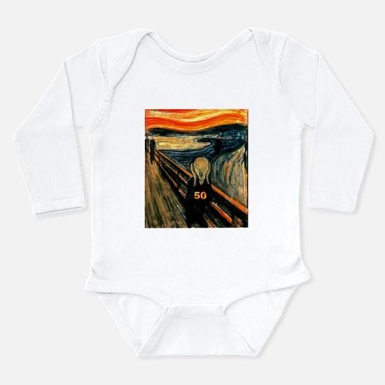 Scream 50th Long Sleeve Infant Bodysuit