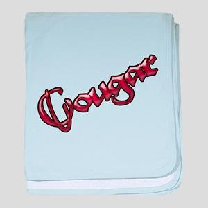 Official Cougar Town Infant Blanket