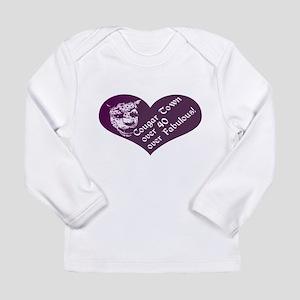 Over 40, Over Fabulous Long Sleeve Infant T-Shirt