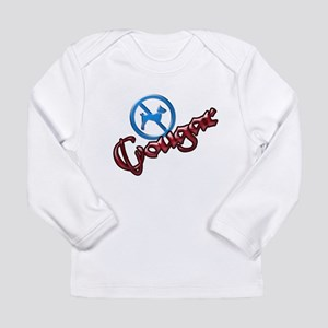 No Dogs, Cougar Town Long Sleeve Infant T-Shirt