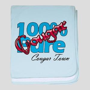100% Pure Cougar Infant Blanket