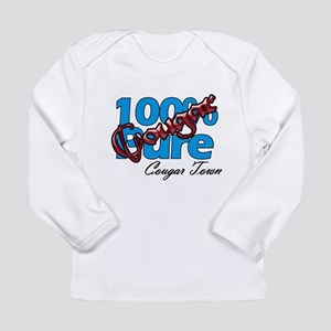 100% Pure Cougar Long Sleeve Infant T-Shirt