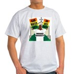 GOD HATES HATE Ash Grey T-Shirt