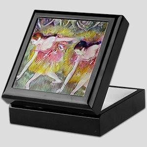 Degas Ballet Dancers Keepsake Box