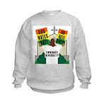 GOD HATES HATE Kids Sweatshirt