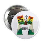 GOD HATES HATE Button