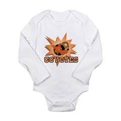 Coyotes Baseball Team Long Sleeve Infant Bodysuit