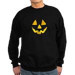 Pumpkin Jack-O-Lantern Hallow Sweatshirt (dark)