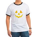 Pumpkin Jack-O-Lantern Hallow Ringer T